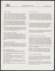 SF Art Association Newsletter - 1956-02-03