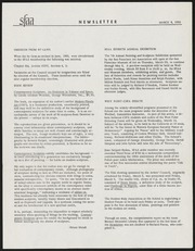 SF Art Association Newsletter - 1956-03-09