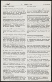 SF Art Association Newsletter - 1956-10-04