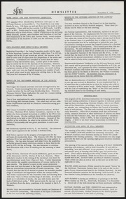 SF Art Association Newsletter - 1956-11-05