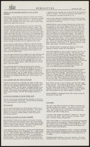 SF Art Association Newsletter - 1957-01-24