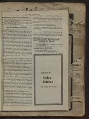 Lodge Echoes - 1900-10-11
