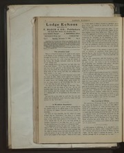 Lodge Echoes - 1900-11-17