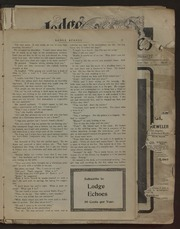 Lodge Echoes - 1900-12-29