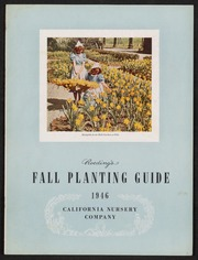 Roeding's Fall Planting Guide 1946