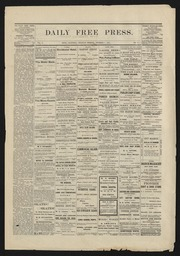 Daily Free Press 1879-12-01