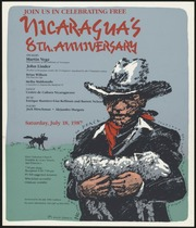 Join Us in Celebrating Free Nicaragua's 8th. Anniversary