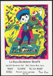 La Raza Bookstore Benefit