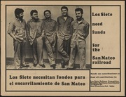 Los Siete Need Funds for the San Mateo Railroad