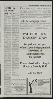 West Sacramento News-Ledger 2009-10-28