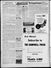 Campbell (Interurban) Press Newspaper