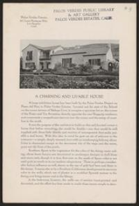 Planned communities--California--Palos Verdes Peninsula--History